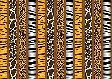 wandmotiv24 Vliestapete Afrika Tiermuster Größe: