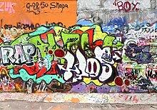 wandmotiv24 Vliestapete Graffiti 2 Größe: 400 x
