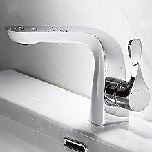 WANDOM Bad Kupfer Waschbecken Wasserhahn heiß und