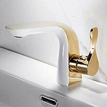 WANDOM Badezimmer Kupfer Waschbecken Wasserhahn