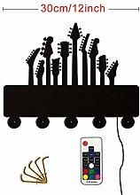 WANDOM Gitarren Musikinstrumente Thema Dekorative