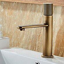 WANDOM Hoher Wasserhahn für Badezimmer,