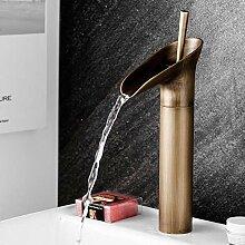 WANDOM Stil einzigen Weinglas Stab Wasserfall