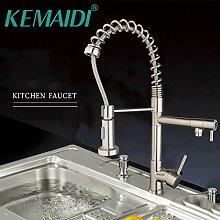 WANDOM Wasserhahn für die Küche, flexibel,