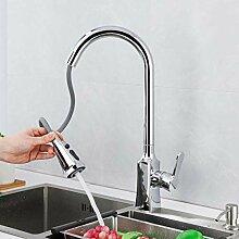 WANDOM Wasserhahn für die Küche, Retro-Stil,