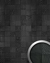 Wandpaneel Luxus 3D Leder WallFace 15031 COLLAGE