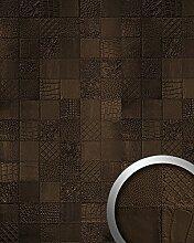 Wandpaneel Luxus Leder WallFace 15038 COLLAGE