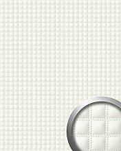 Wandpaneel Quadrat Leder Luxus 3D WallFace 15175