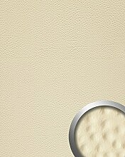 Wandpaneel Strauß Leder Luxus 3D WallFace 13401