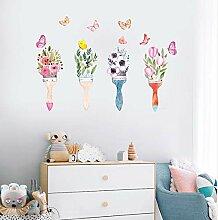 Wandpaste Schlafzimmer Wohnzimmer Sofa