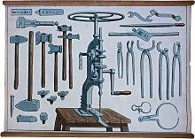 Wandplakat Werkzeuge, 1929