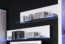 Wandregal Line 100x20x26 cm weiß Wandboards