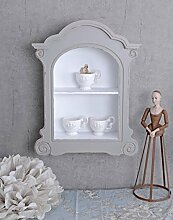 Wandregal Shabby Chic Regal Wandschrank Vintage