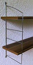 Wandregal Solido, Größen, mit Leiter-System