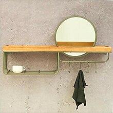 Wandregale, Einfaches Badezimmerregal Aus Massivem