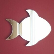 Wandspiegel–Fisch 60 x 44 cm (5mm grueso)