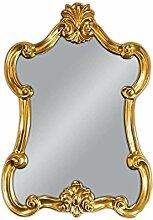 WANDSPIEGEL 90x60 cm Spiegel Barockspiegel Gold