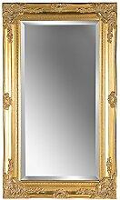 Wandspiegel antik gold Barock GWEN 70 x 40 cm