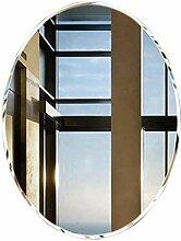 Wandspiegel Badezimmer runder Spiegel rahmenlose