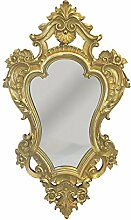 Wandspiegel Barock Gold Spiegel Antik-Stil 49x29cm