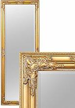 Wandspiegel BESSA gold antik barock Design Spiegel pompös Holzrahmen 180x70cm
