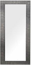 Wandspiegel Braun 50 x 130 cm Kunststoff