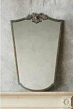 Wandspiegel Crest Deer Astoria Grand Farbe: Antik