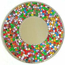 Wandspiegel Deko Spiegel Mosaik Einlegearbeit