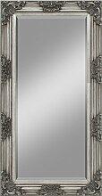 Wandspiegel Holzrahmen Silber barock antik