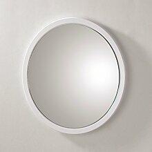 Wandspiegel ideal für den Flur- und Badbereich aus MDF in weiß