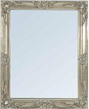 Wandspiegel im Barockstil Silber