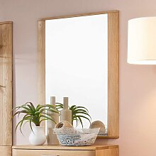 Wandspiegel in Eiche Bianco 65 cm breit