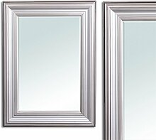 Wandspiegel KIM Silber 120x80cm Spiegel Holzrahmen
