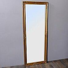 Wandspiegel LEANDOS 160x60cm barock gold antik Design Spiegel pompös Holzrahmen