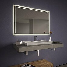Wandspiegel LED für das Bad Linus - B 1500mm x H