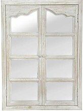 Wandspiegel mit Türen Shabby Chic