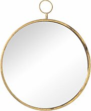 Wandspiegel Old Gold 55cm, 55 × 5 × 68 cm