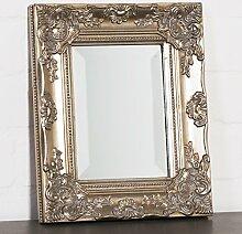 Wandspiegel silber 32 x 27 cm mit verziertem