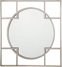 Wandspiegel Silber Quadratische Form 71 x 71 cm