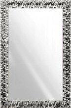 WANDSPIEGEL Silberfarben, Weiß