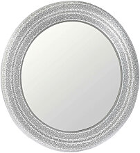 WANDSPIEGEL Silberfarben