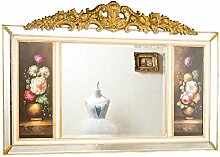 Wandspiegel Spiegel 165cm antik Stil mit original Gemälde Ölgemälde mirror