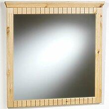 Wandspiegel Spiegel ALBORG mit Massivholzrahmen, gefräste Zierleisten