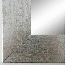 Wandspiegel Spiegel Badspiegel - Essen 6,9 - Silber - 60 x 140 - Außenmaß inkl. Massivholz-Rahmen - viele Größen verfügbar - Modern, Barock, Antik, Vintage, Landhaus