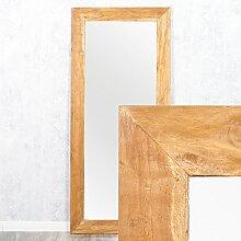 Wandspiegel TEAK ca. 160x70cm recyceltes Teakholz Spiegel Holzspiegel