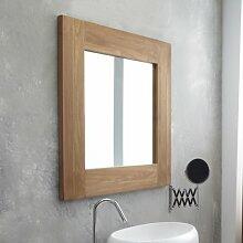 Wandspiegel Teck Square Größe: 80 cm H x 80 cm B x 3 cm T