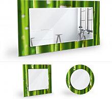 Wandspiegel - Wandspiegel Bambuswald