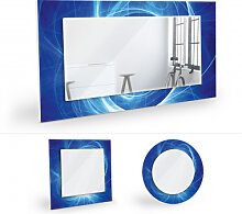 Wandspiegel - Wandspiegel Chaos Ray blau