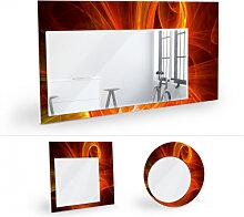 Wandspiegel - Wandspiegel Chaos Ray rot