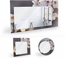 Wandspiegel - Wandspiegel Kirschblütenzweig